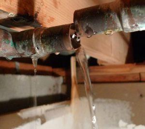 Pipe Leak Detection and Repair
